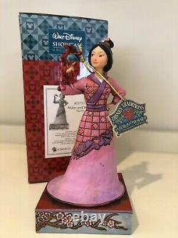 Mulan Et Mushu Figurine Jim Shore Disney Traditions Princesse Enesco 4037510