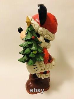 Newjim Shore 17 Disney Traditions Grande Souris Mickey Vieux Saint Mick Noël