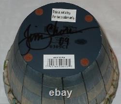 Nouveau Signé Jim Shore Disney Traditions Tink Flower Pot Tinker Bell 4013258