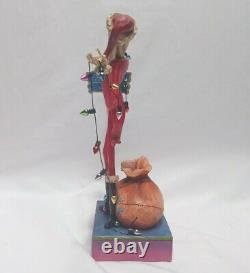 Parcs Disney Enesco Jim Shore Figurine Jack Décoration Santa Traditions Rare Htf