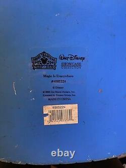 Rare Disney Jim Shore Mickey Mouse Sorcier Magic Est Partout Grande Figure Vtg