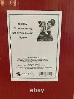 Rare Disney Traditions Jim Shore 4013968 Mikey Victorien Et Mousse Minnie